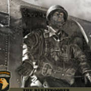 The Paratrooper Art Print