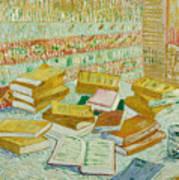 The Parisian Novels Or The Yellow Books Art Print