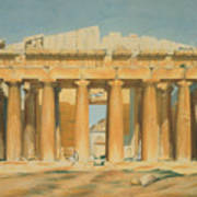 The Parthenon Print by Louis Dupre