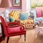 The Pastel Suite Art Print