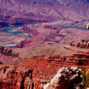 The Path Of The Colorado River Art Print