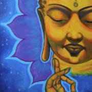 The Peaceful Buddha Art Print