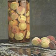 The Peach Glass Art Print