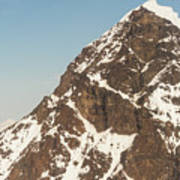 The Summit Of Mount Denali 19,000 Feet  Art Print