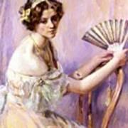 The Pearl Fan Art Print