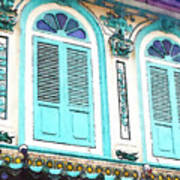 The Peranakan Building  Art Print