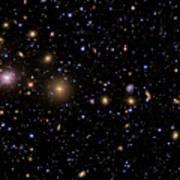 The Perseus Galaxy Cluster Art Print