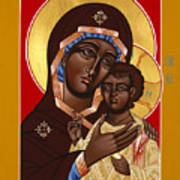 The Petrovskya Icon Of The Mother Of God 128 Art Print