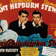 The Philadelphia Story, Katharine Print by Everett