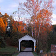 The Phillips Covered Bridge Art Print