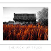 The Pick-up Truck Poster Art Print