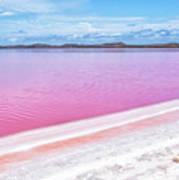 The Pink Diagonal Art Print