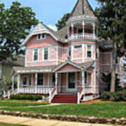 The Pink House 2 Art Print