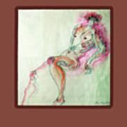 The Pink Man  Art Print