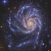 The Pinwheel Galaxy, Also Known As Ngc Art Print