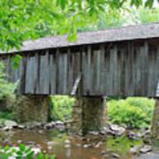The Pisgah Covered Bridge Art Print