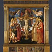 The Pistoia Santa Trinita Altarpiece Art Print