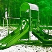 The Playground II - Ocean County Park Art Print