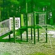 The Playground IIi - Ocean County Park Art Print