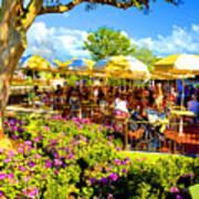 The Plaza Magic Kingdom Walt Disney World Art Print