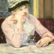 The Plum Art Print by Edouard Manet