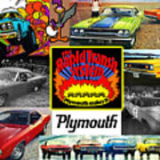The Plymouth Rapid Transit System Collage Art Print