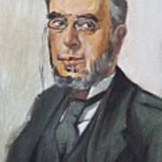 The Poet Demetrius Vikelas Art Print