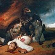 The Polish Prometheus Horace Vernet Art Print