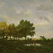 The Pond, La Mare Art Print