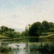 The Ponds Of Gylieu Art Print