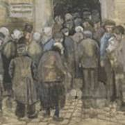 The Poor And Money The Hague, September - October 1882 Vincent Van Gogh 1853  1890 Art Print