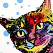 The Pop Cat Art Print by Dean Russo