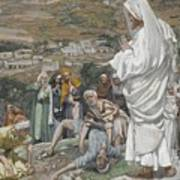 The Possessed Boy At The Foot Of Mount Tabor Art Print