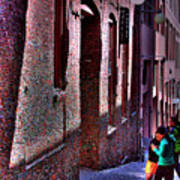 The Post Alley Gum Wall Art Print