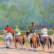The Post Parade Art Print