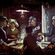 The Potato Eaters, By Vincent Van Gogh, 1885, Kroller-muller Mus Art Print