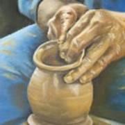 The Potter Art Print