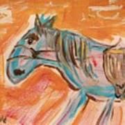 The Power Horse Art Print