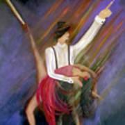 The Power Of Dance Art Print
