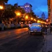 The Prado, Havana Cuba Art Print