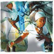 The Prayer Tree Haiti Art Print