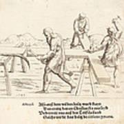 The Preparation Of The Cross Art Print