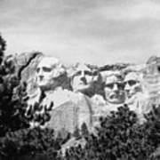 The Presidents Four Art Print
