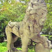The Proud Lion  Art Print