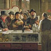 The Public Bar Print by John Henry Henshall