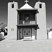 The Pueblo Church Art Print