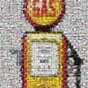 The Pump Mosaic Art Print
