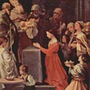 The Purification Of The Virgin 1640 Art Print