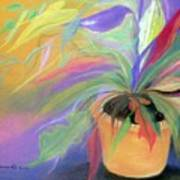 The Purple Bird Art Print