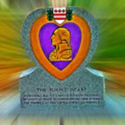 the Purple Heart Art Print